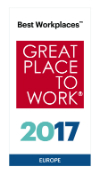 DELA Great Place to Work Europa 2017